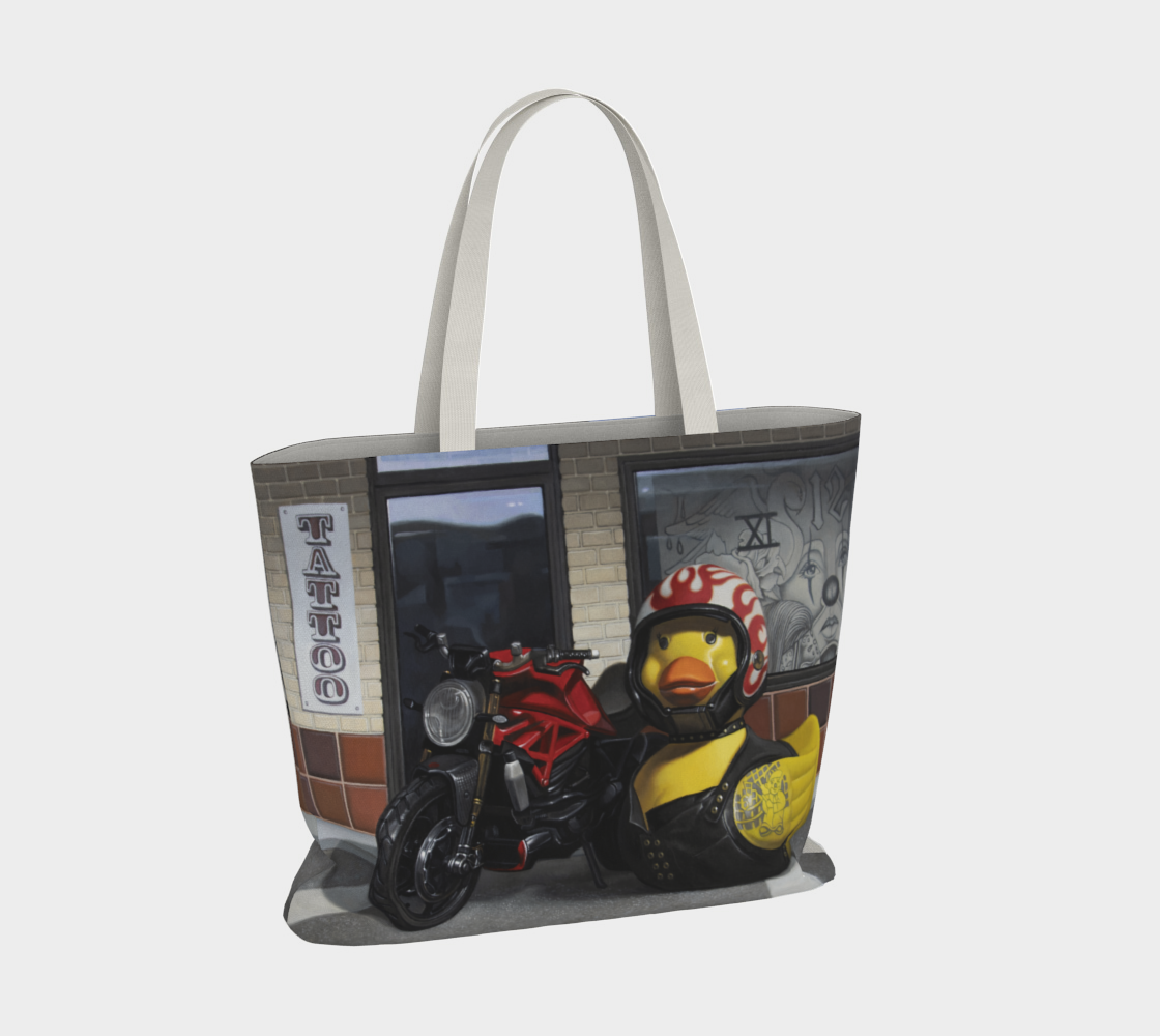 Biker Chick Large Tote Bag preview #4