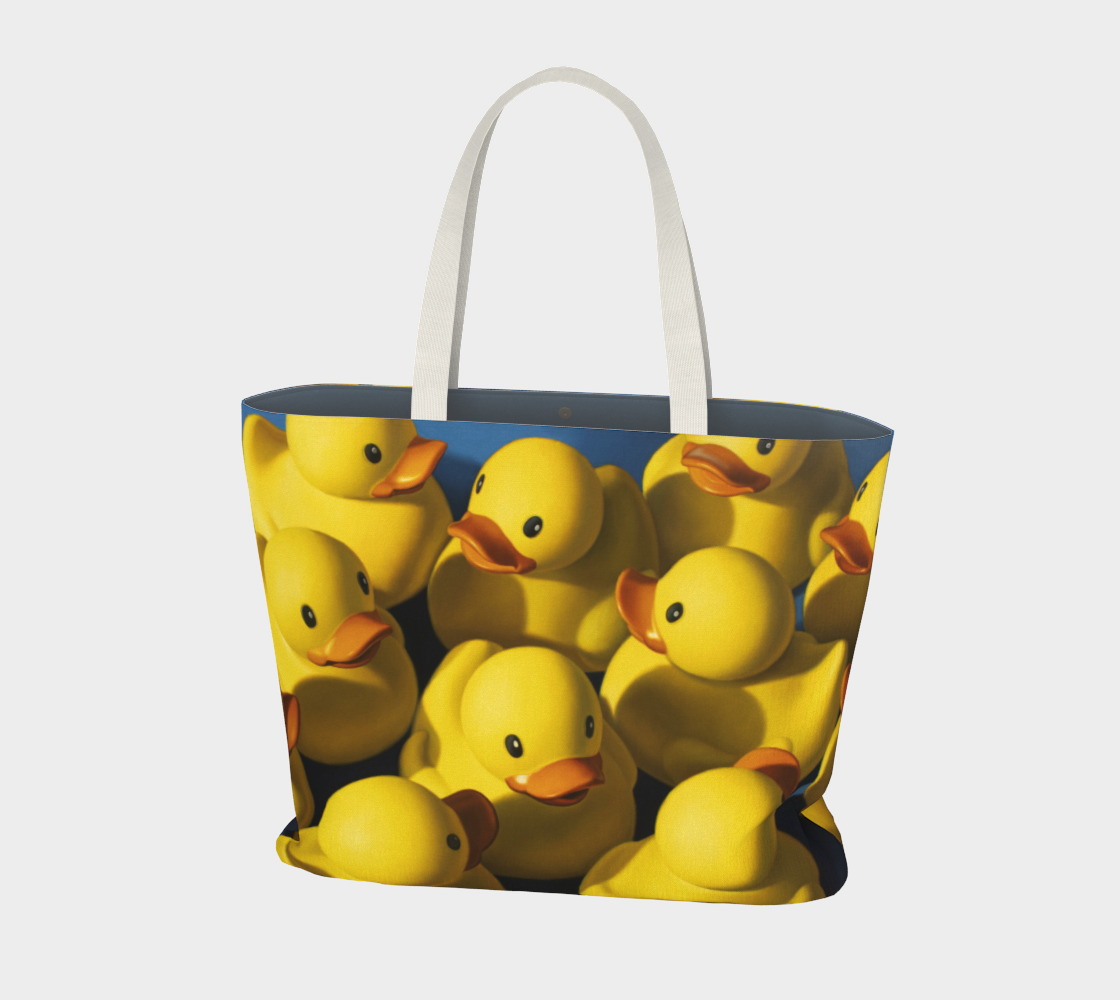 Clusterduck Large Tote Bag preview #1
