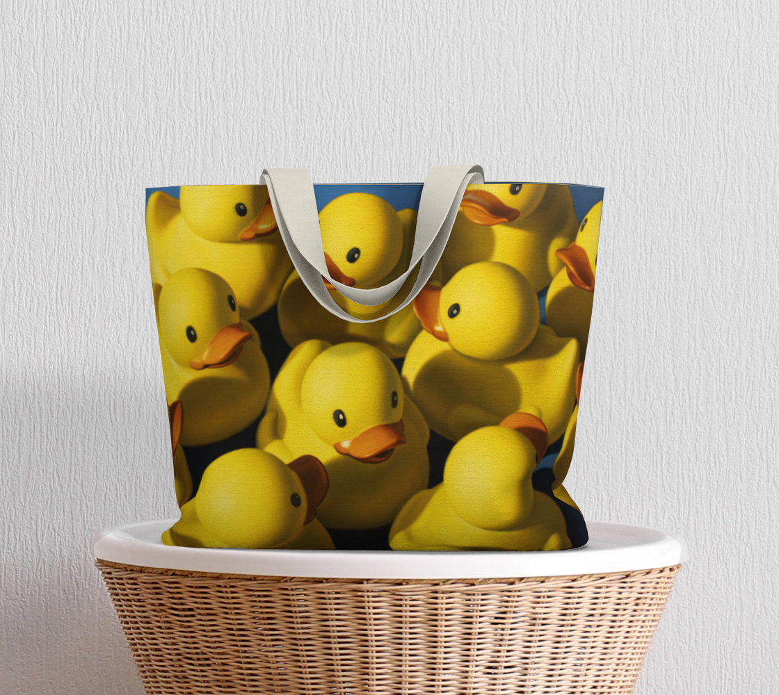 Clusterduck Large Tote Bag preview #5