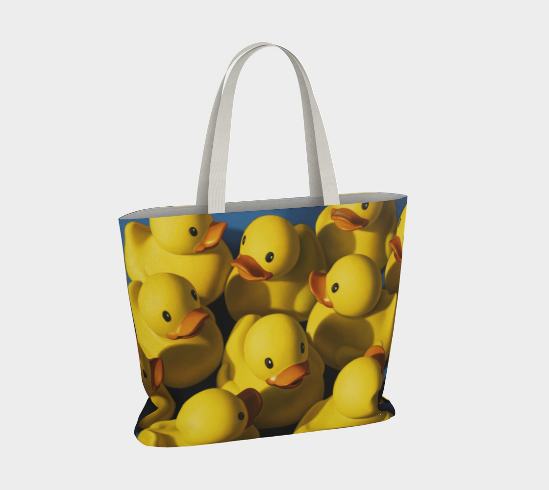 Clusterduck Large Tote Bag preview #4