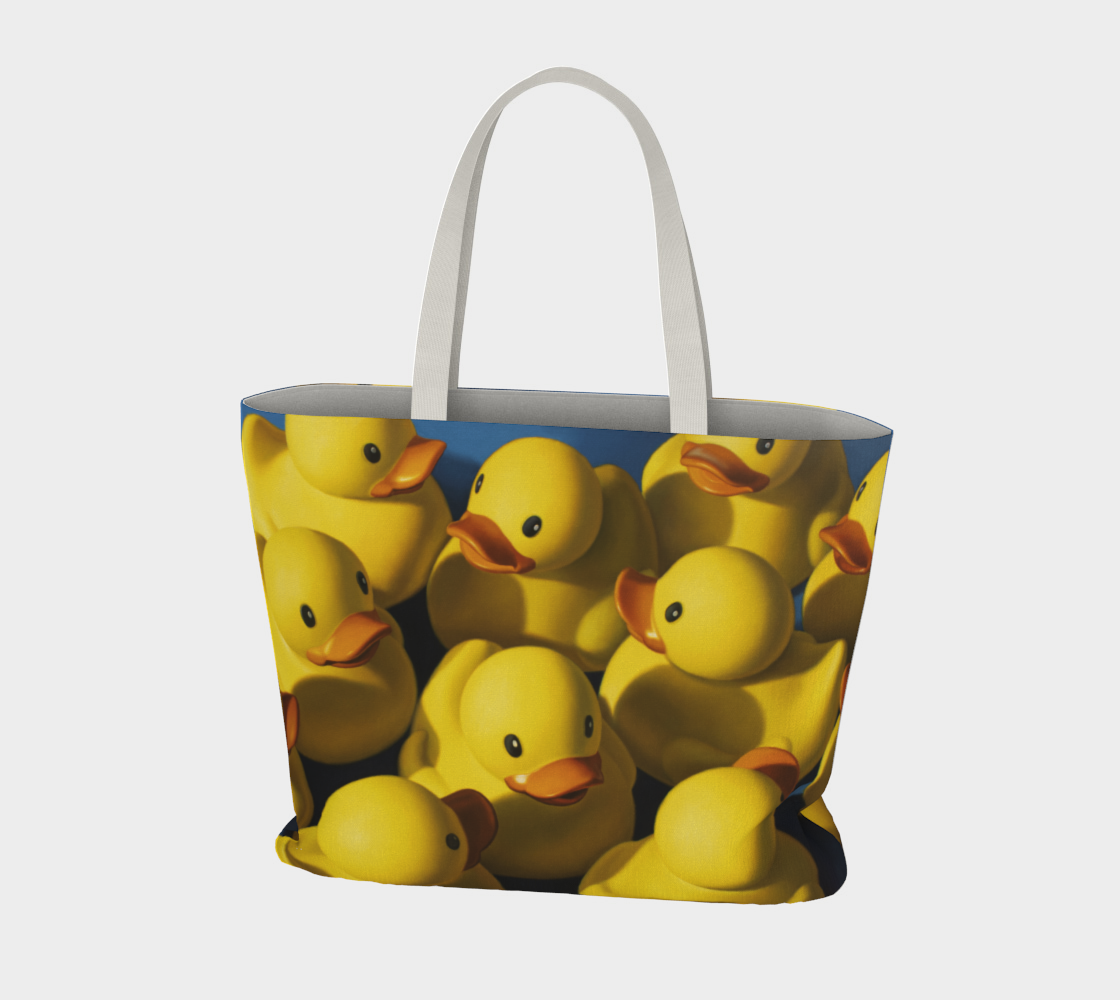 Clusterduck Large Tote Bag preview #3