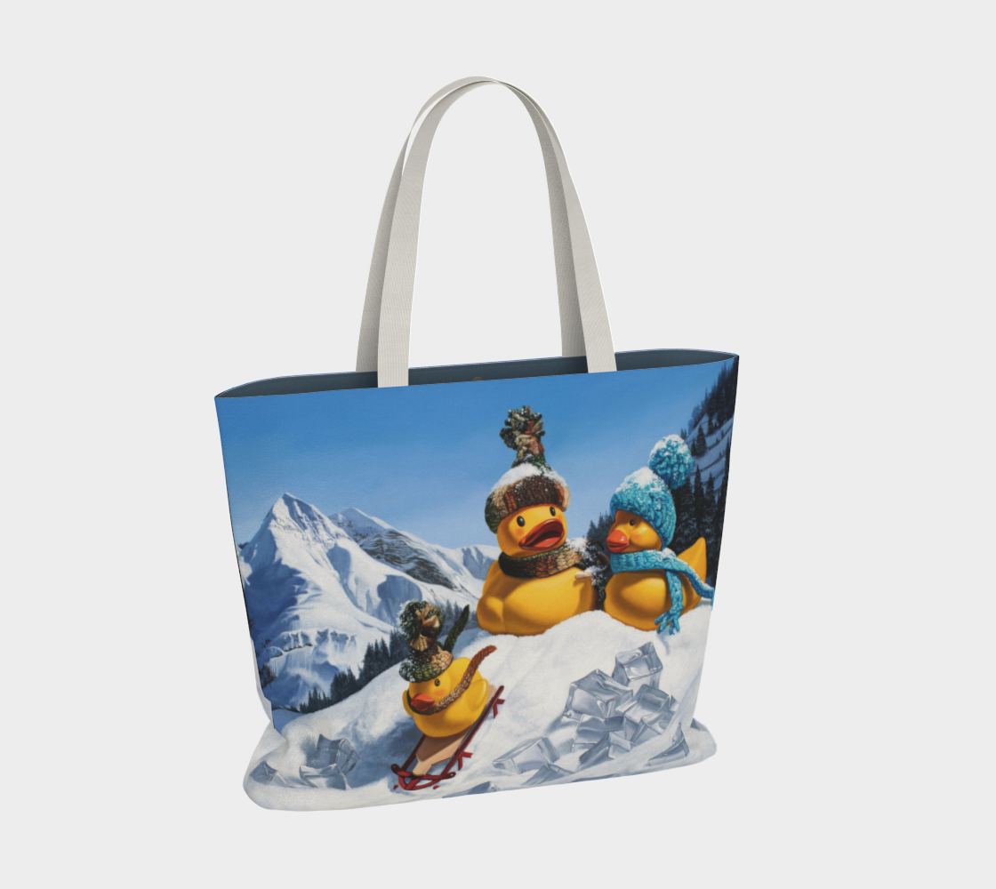 Cold Duck Large Tote Bag preview #2
