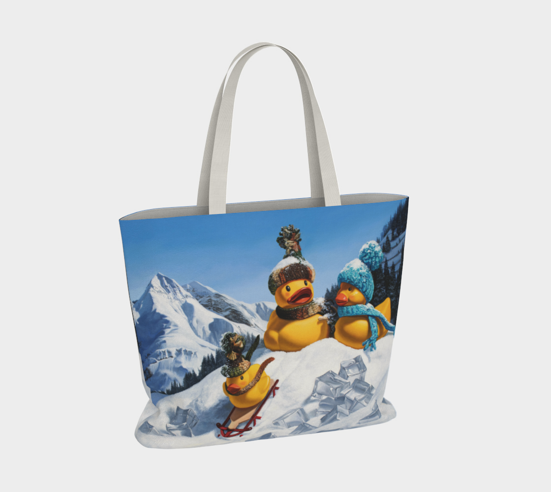 Cold Duck Large Tote Bag preview #4
