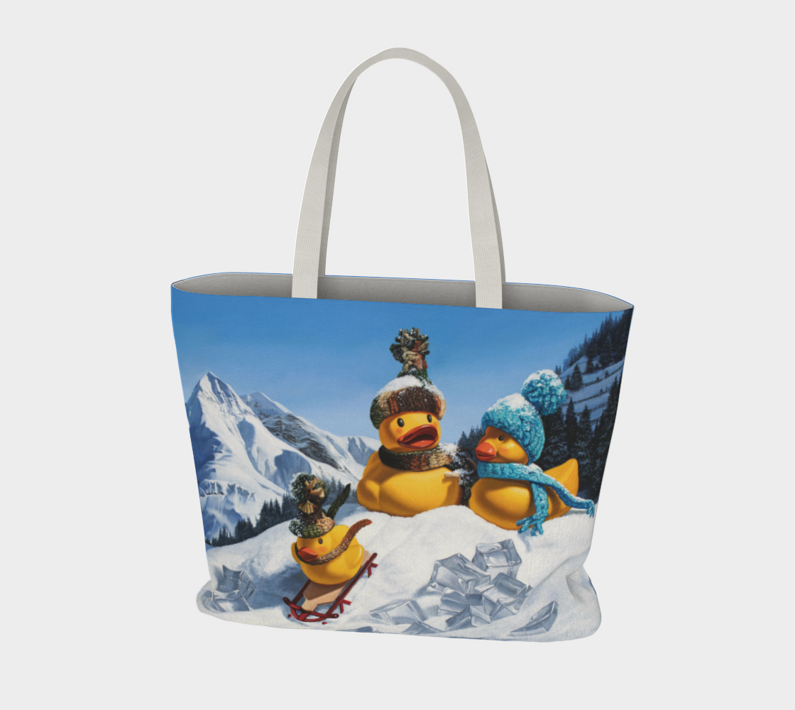 Cold Duck Large Tote Bag preview #3