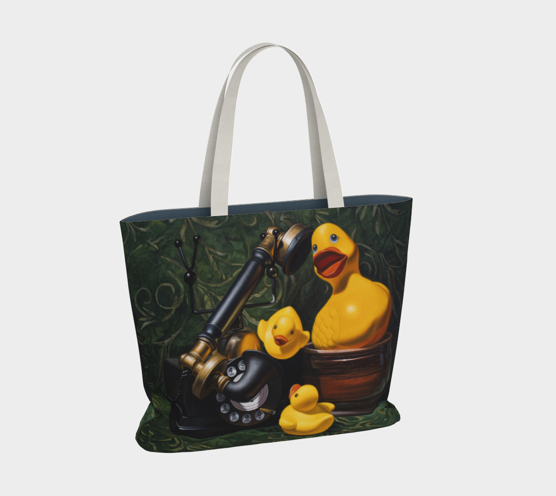 Duck Call Large Tote Bag preview #2