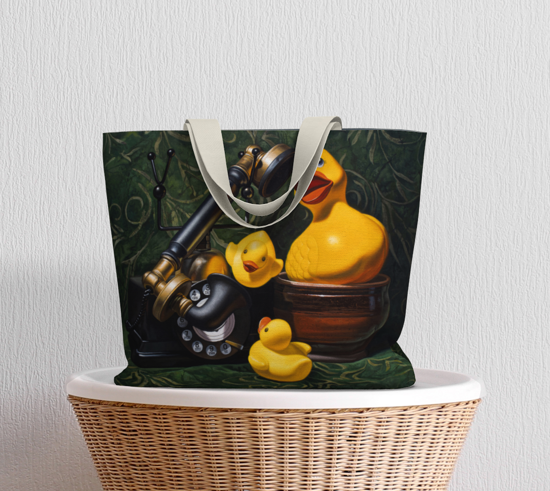 Duck Call Large Tote Bag preview #5