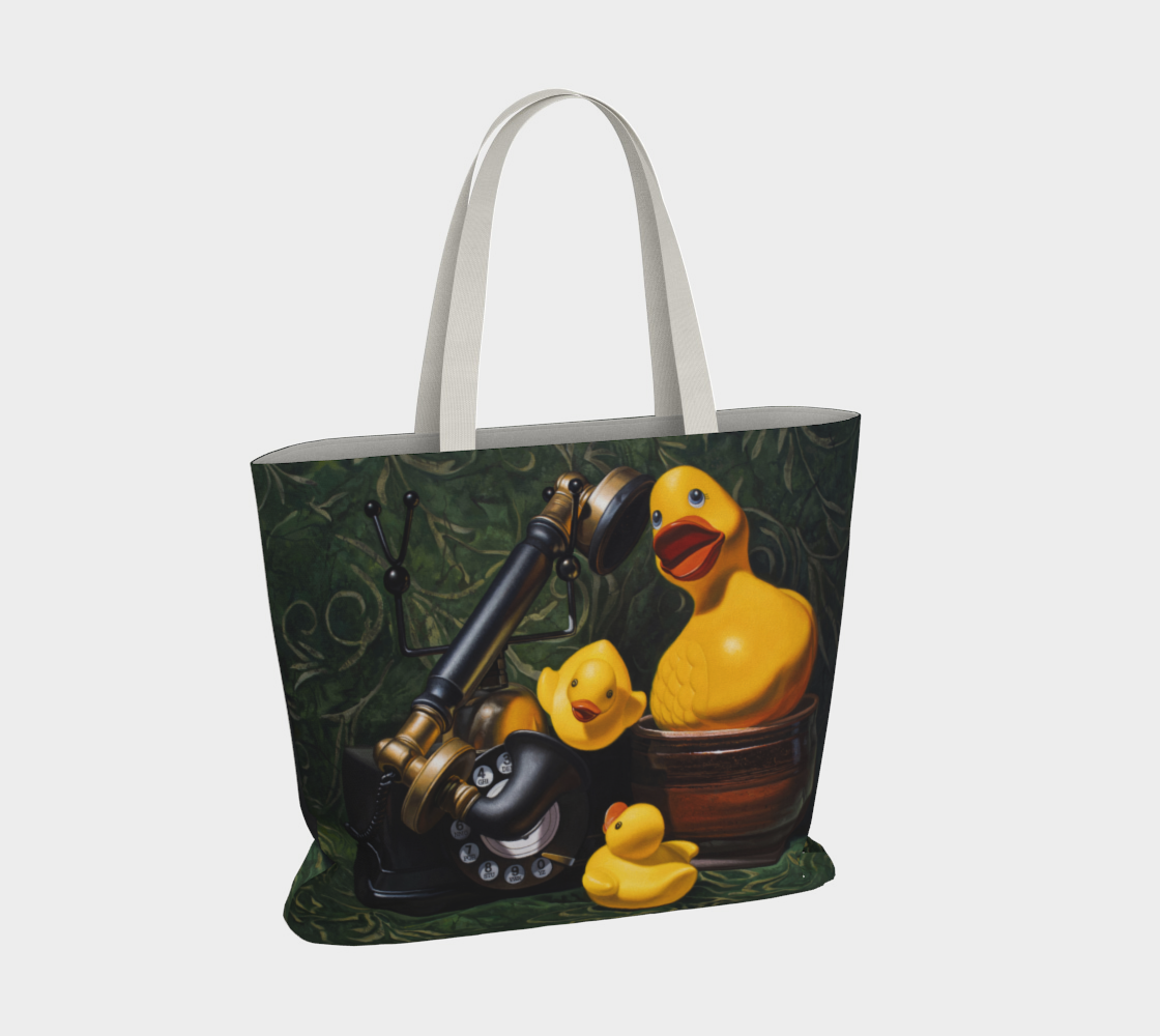 Duck Call Large Tote Bag preview #4