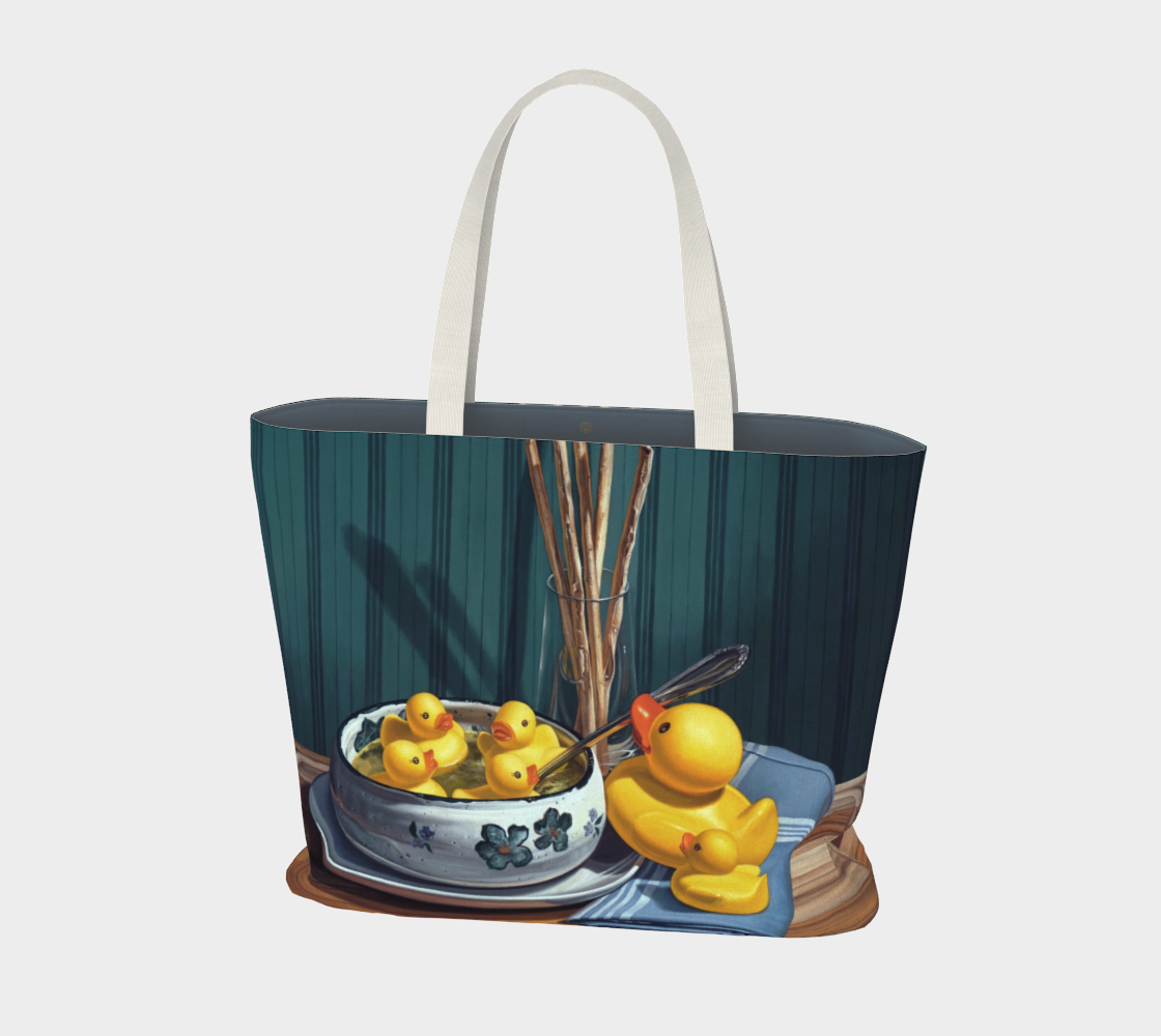 Duck Soup Large Tote Bag preview #1