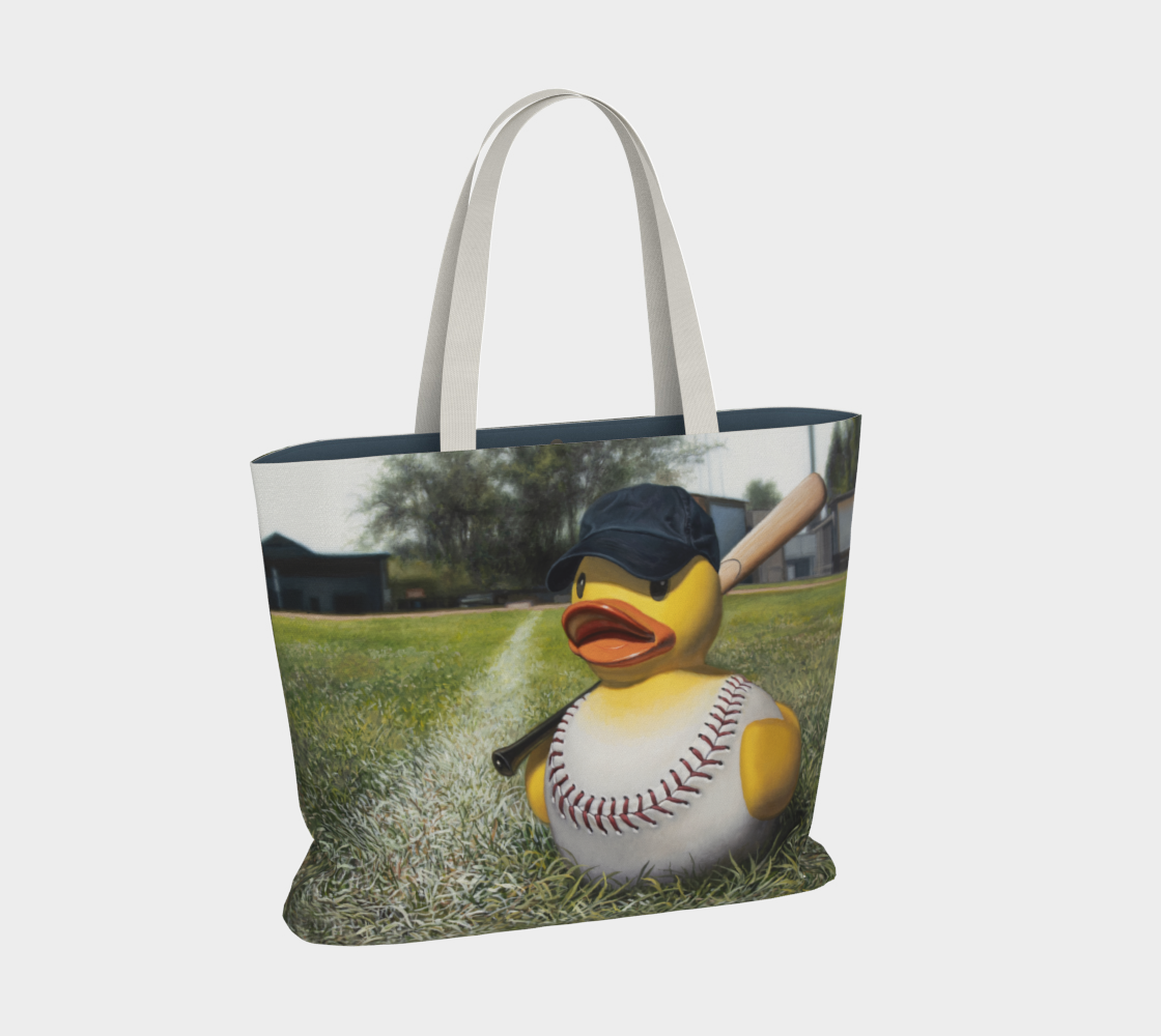 Fowl Ball Large Tote Bag preview #2