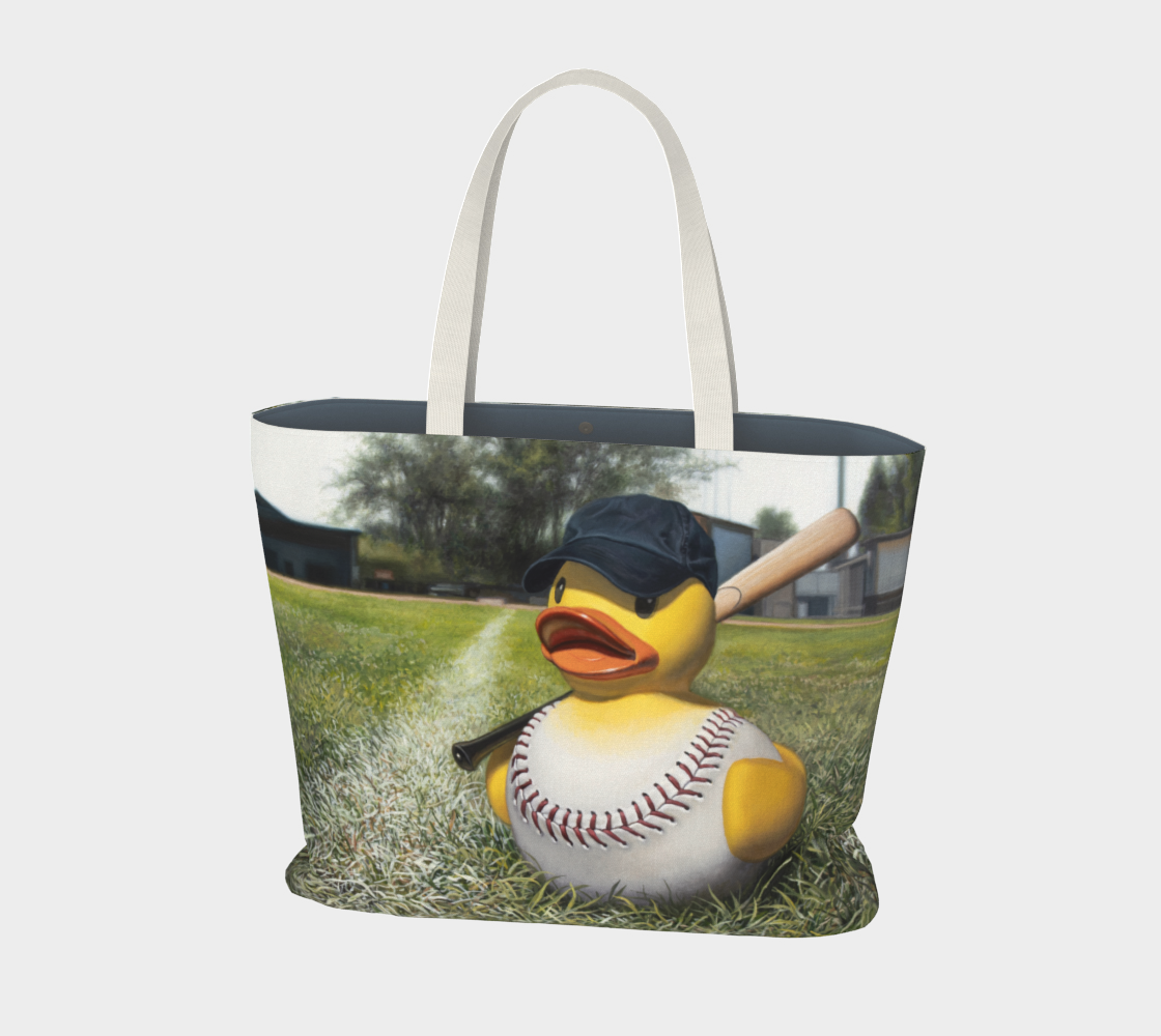 Fowl Ball Large Tote Bag preview #1