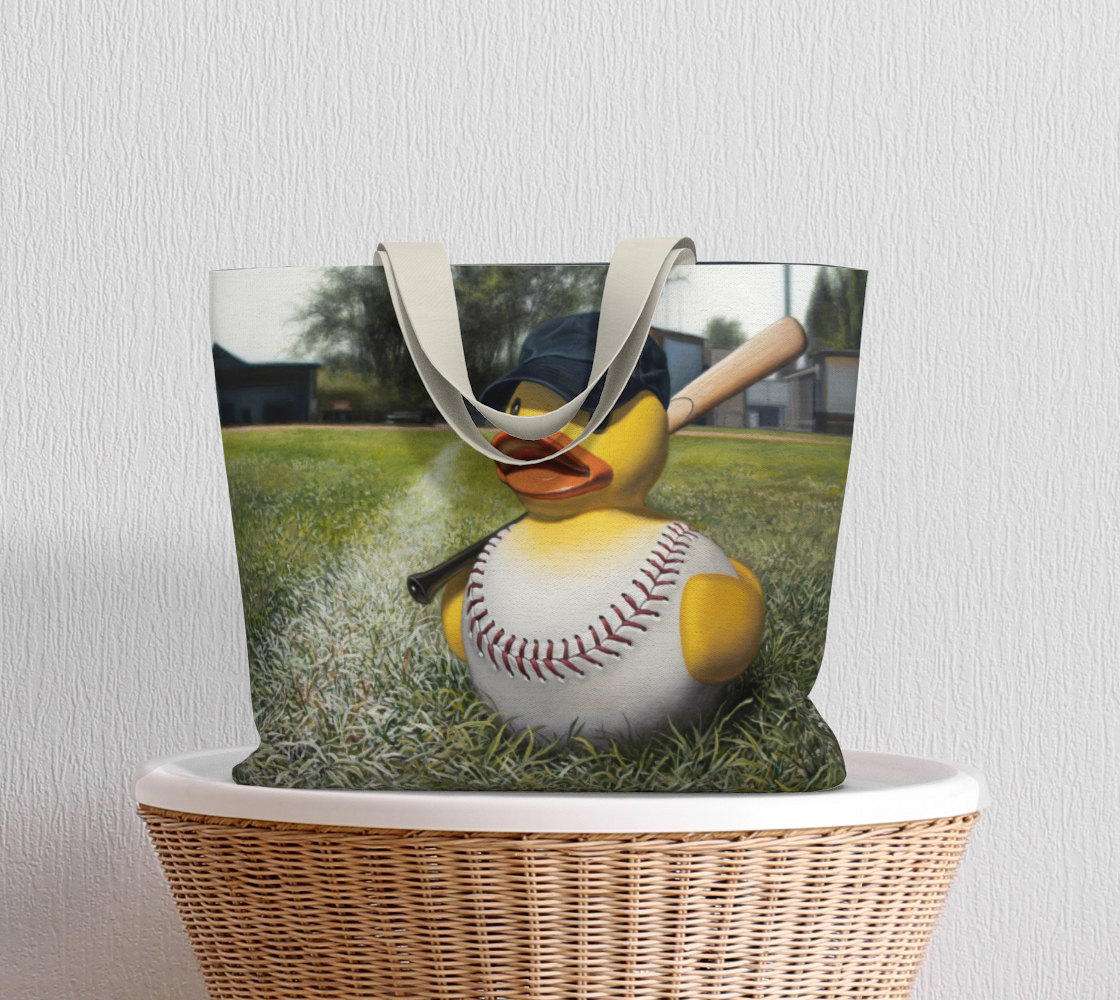 Fowl Ball Large Tote Bag preview #5