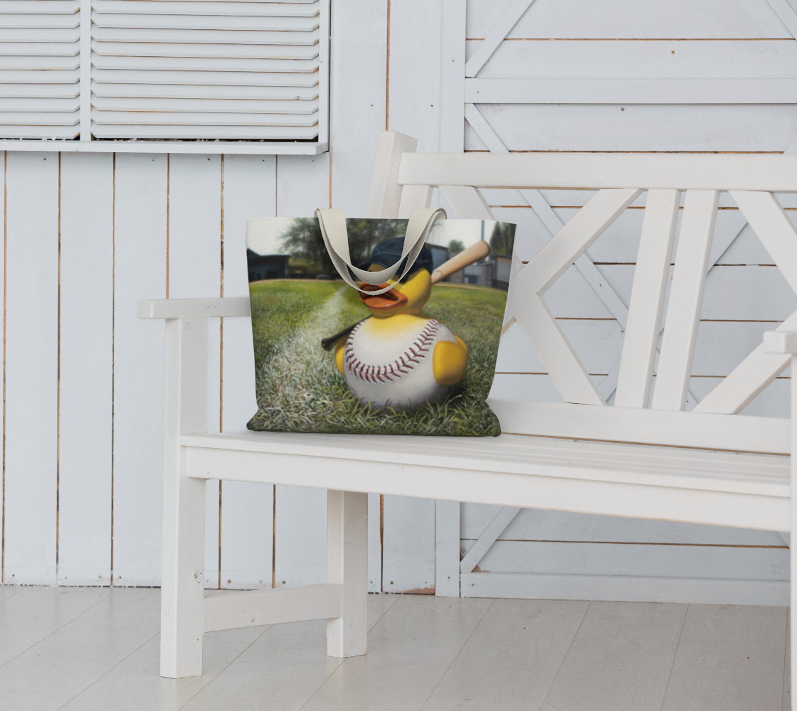 Fowl Ball Large Tote Bag preview #6