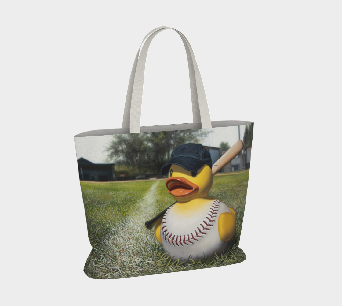 Fowl Ball Large Tote Bag preview #4