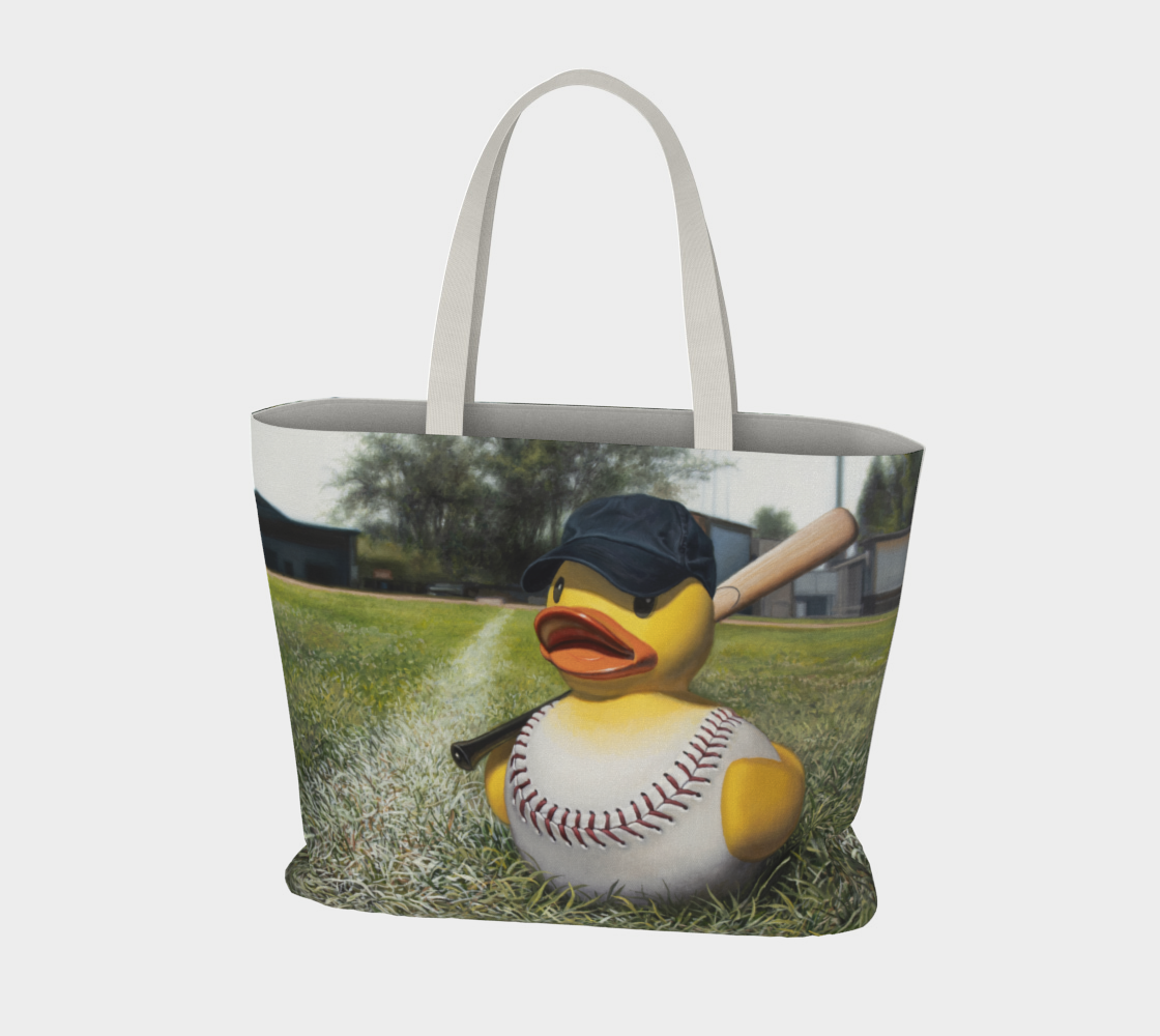 Fowl Ball Large Tote Bag preview #3