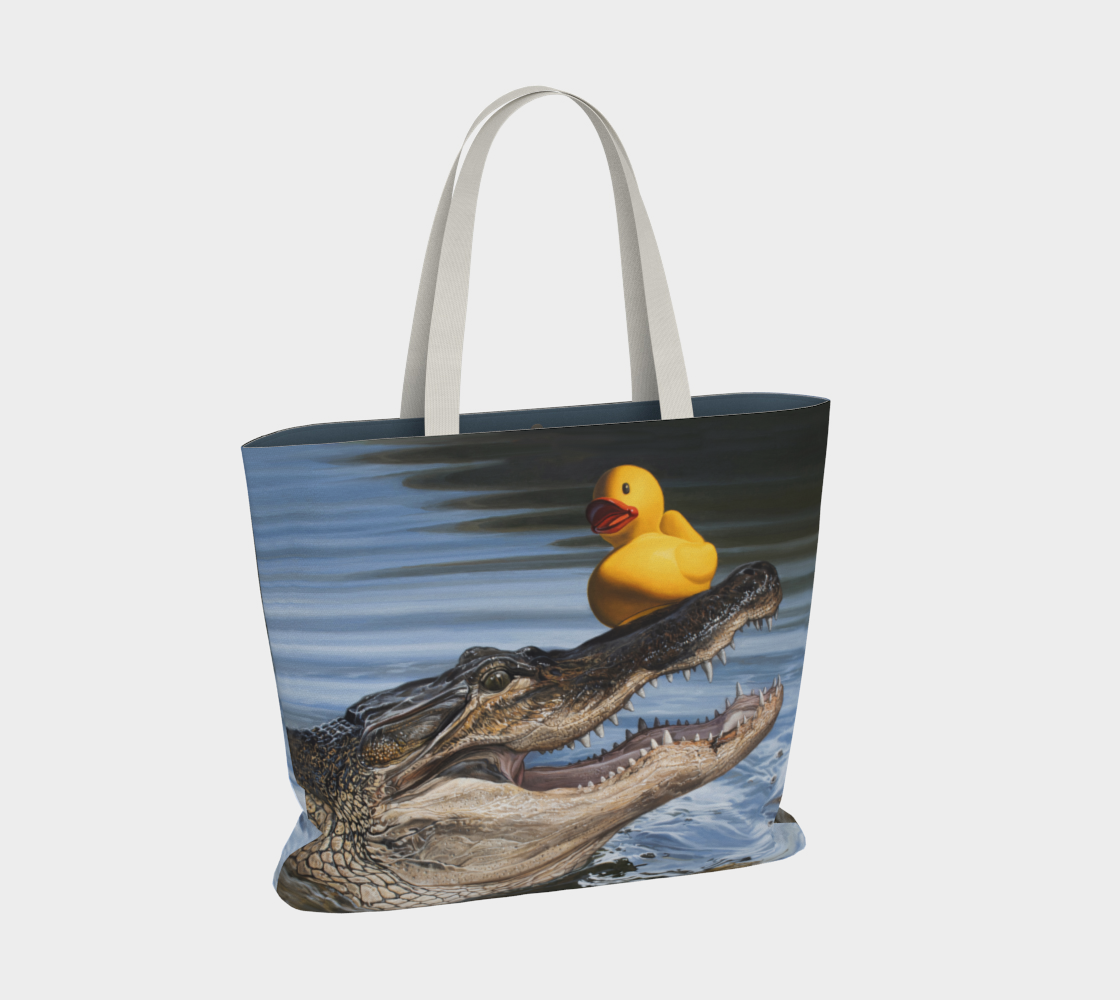 Sitting Duck Large Tote Bag preview #2