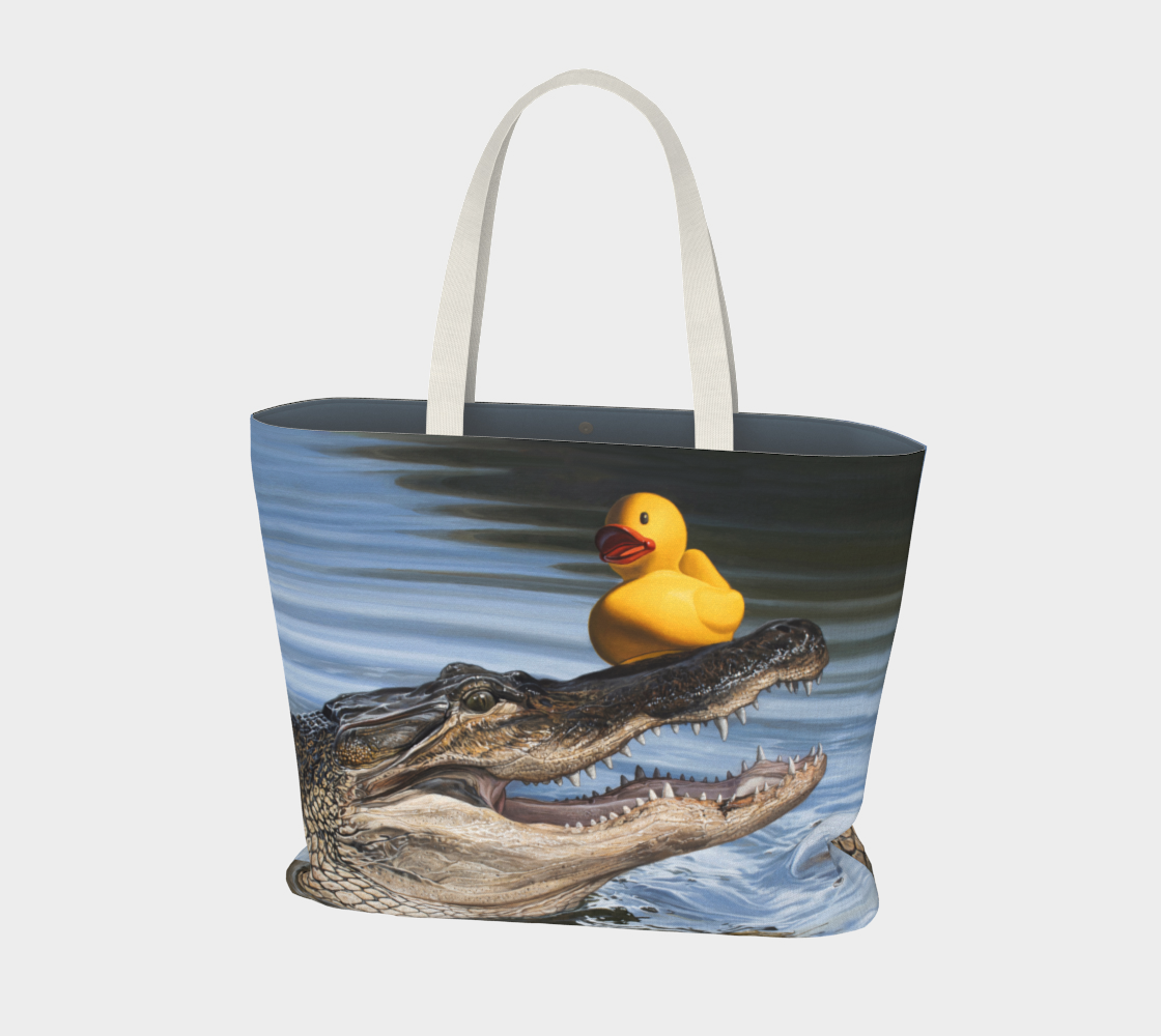 Sitting Duck Large Tote Bag preview