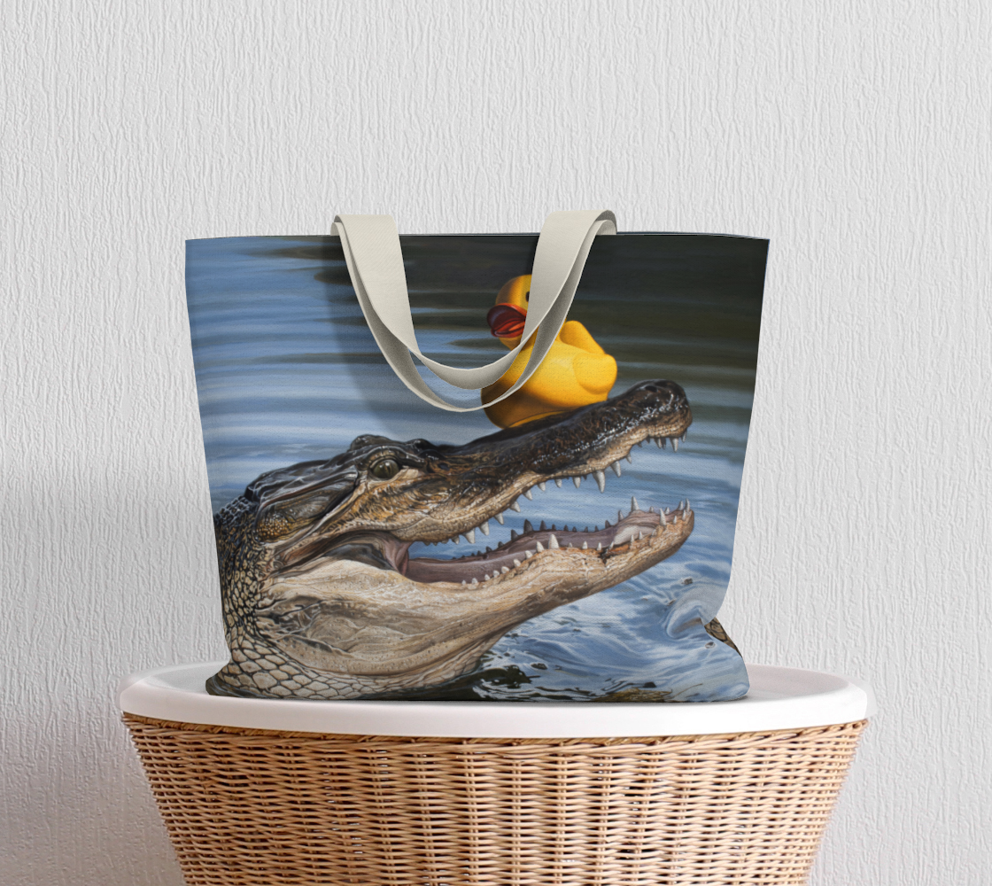 Sitting Duck Large Tote Bag preview #5