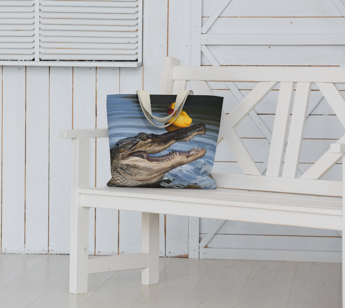 Sitting Duck Large Tote Bag preview #6