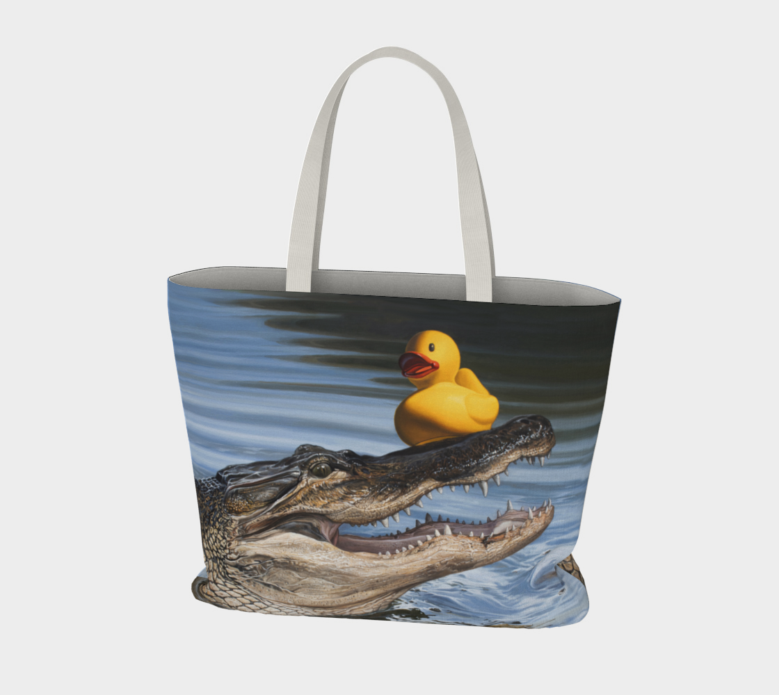 Sitting Duck Large Tote Bag preview #3