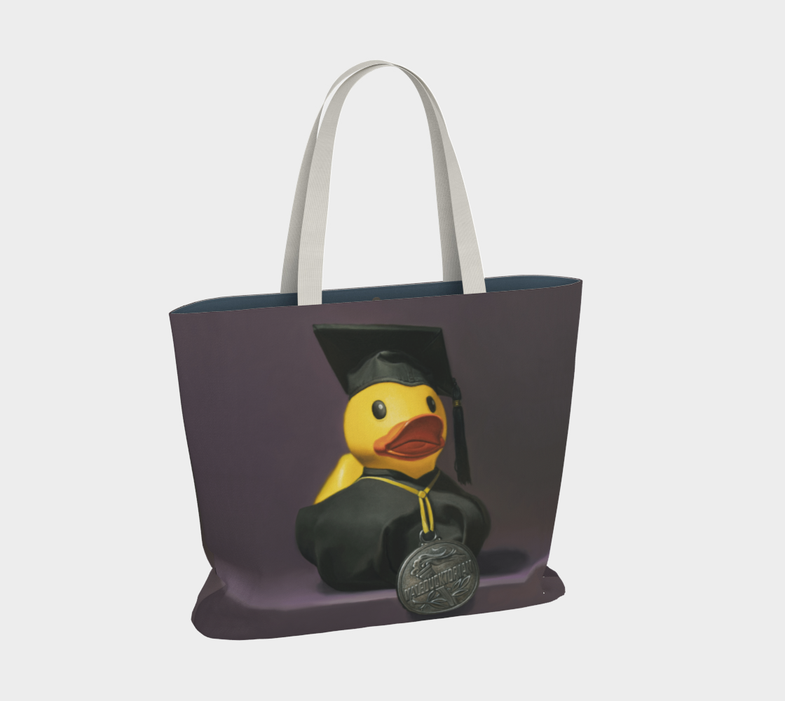 Valeducktorian Large Tote Bag preview #2
