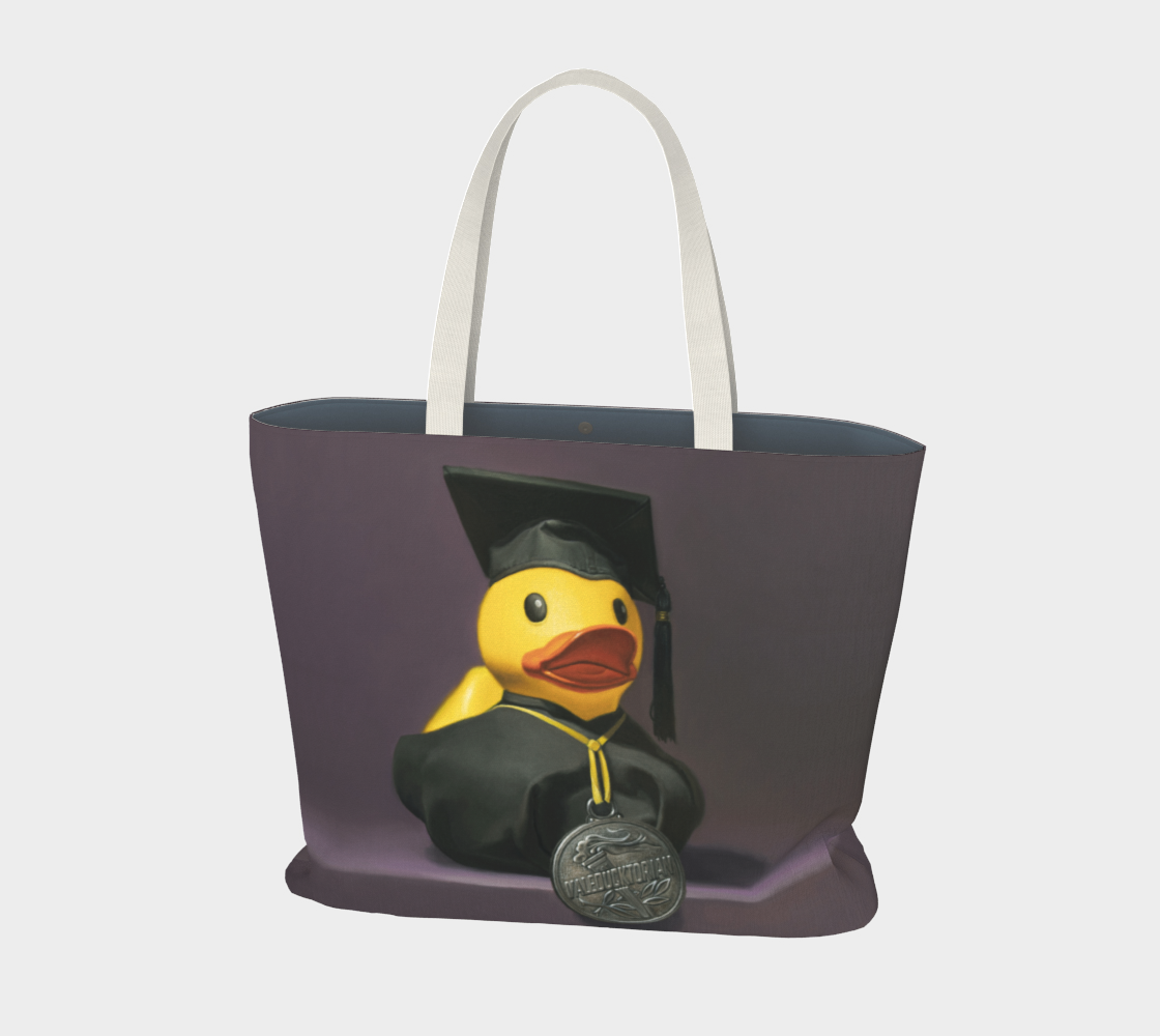Valeducktorian Large Tote Bag preview