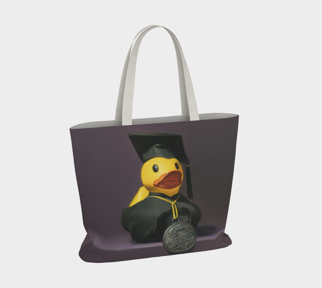 Valeducktorian Large Tote Bag preview #4
