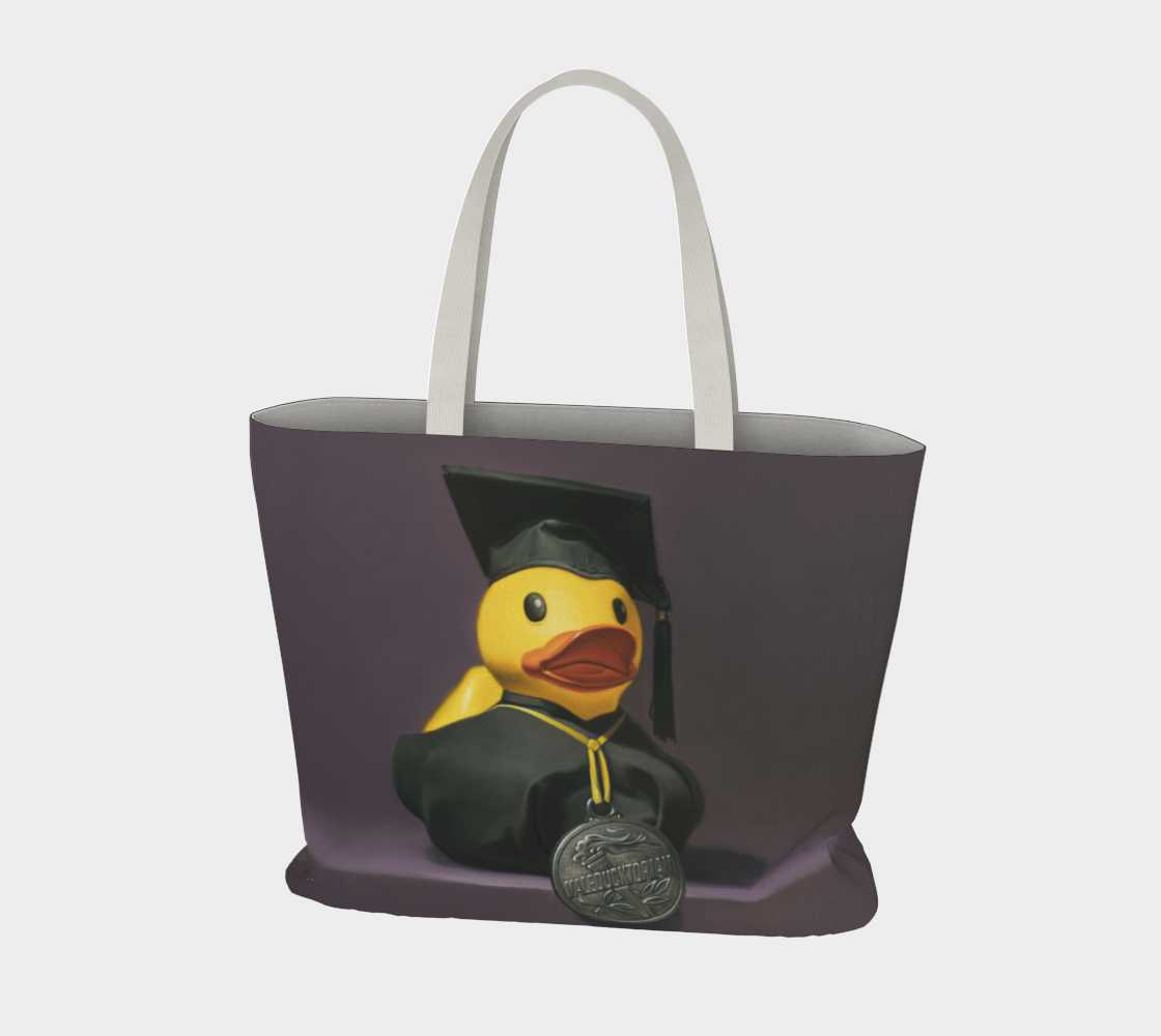 Valeducktorian Large Tote Bag preview #3