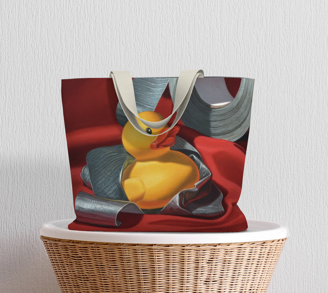 Duck Tape Large Tote Bag preview #5