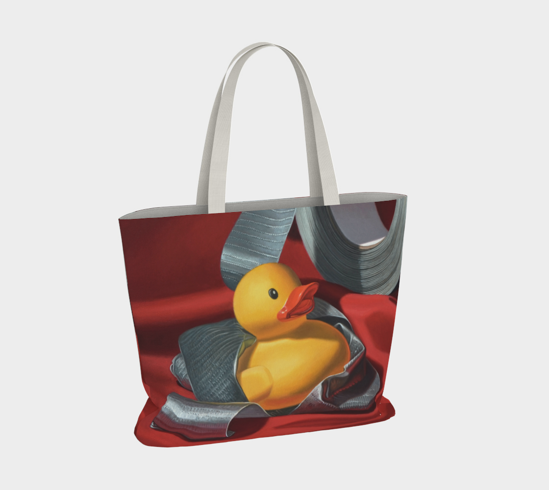 Duck Tape Large Tote Bag preview #4