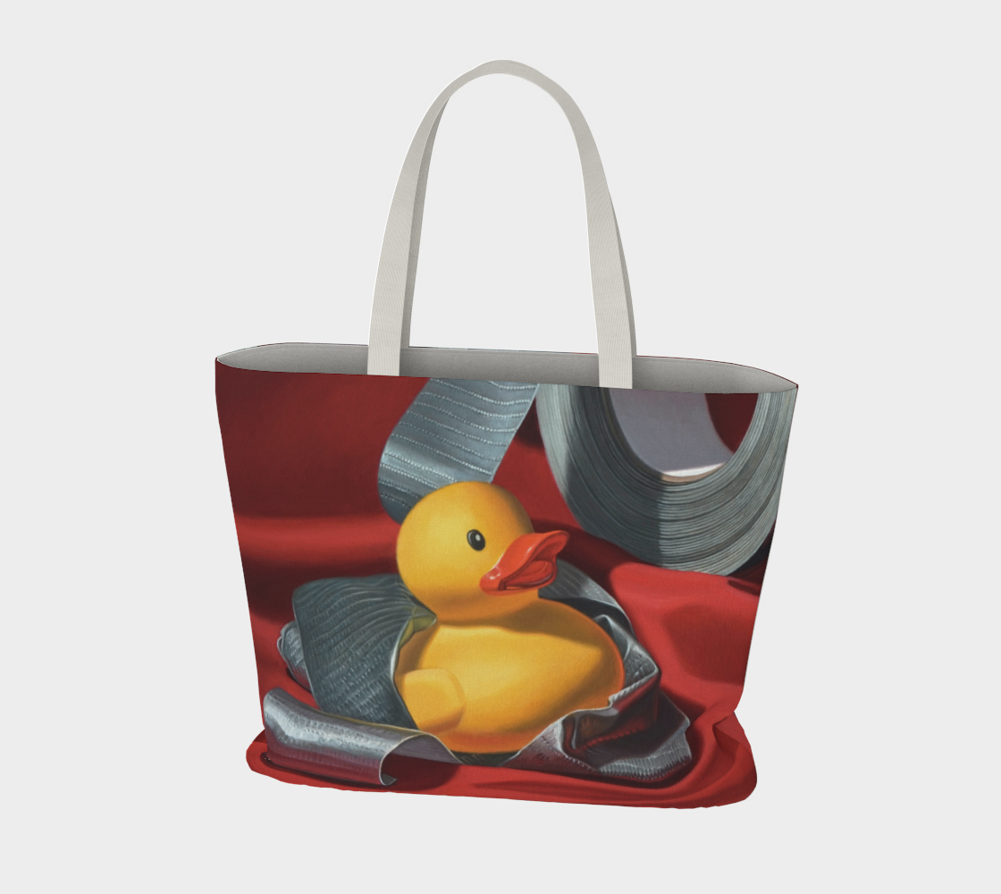 Duck Tape Large Tote Bag preview #3