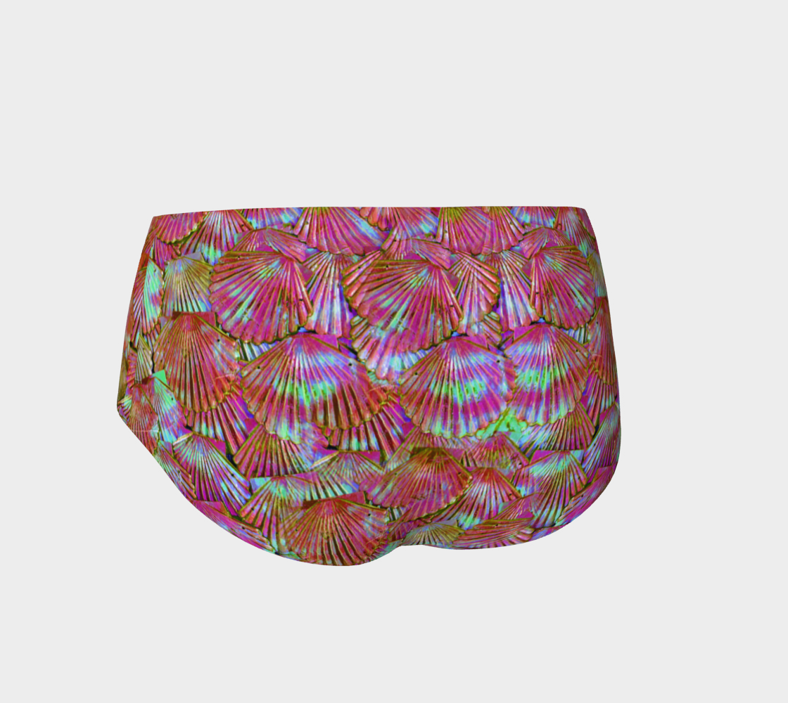 Peachy Keen Mermaid Booty Shorts preview #2