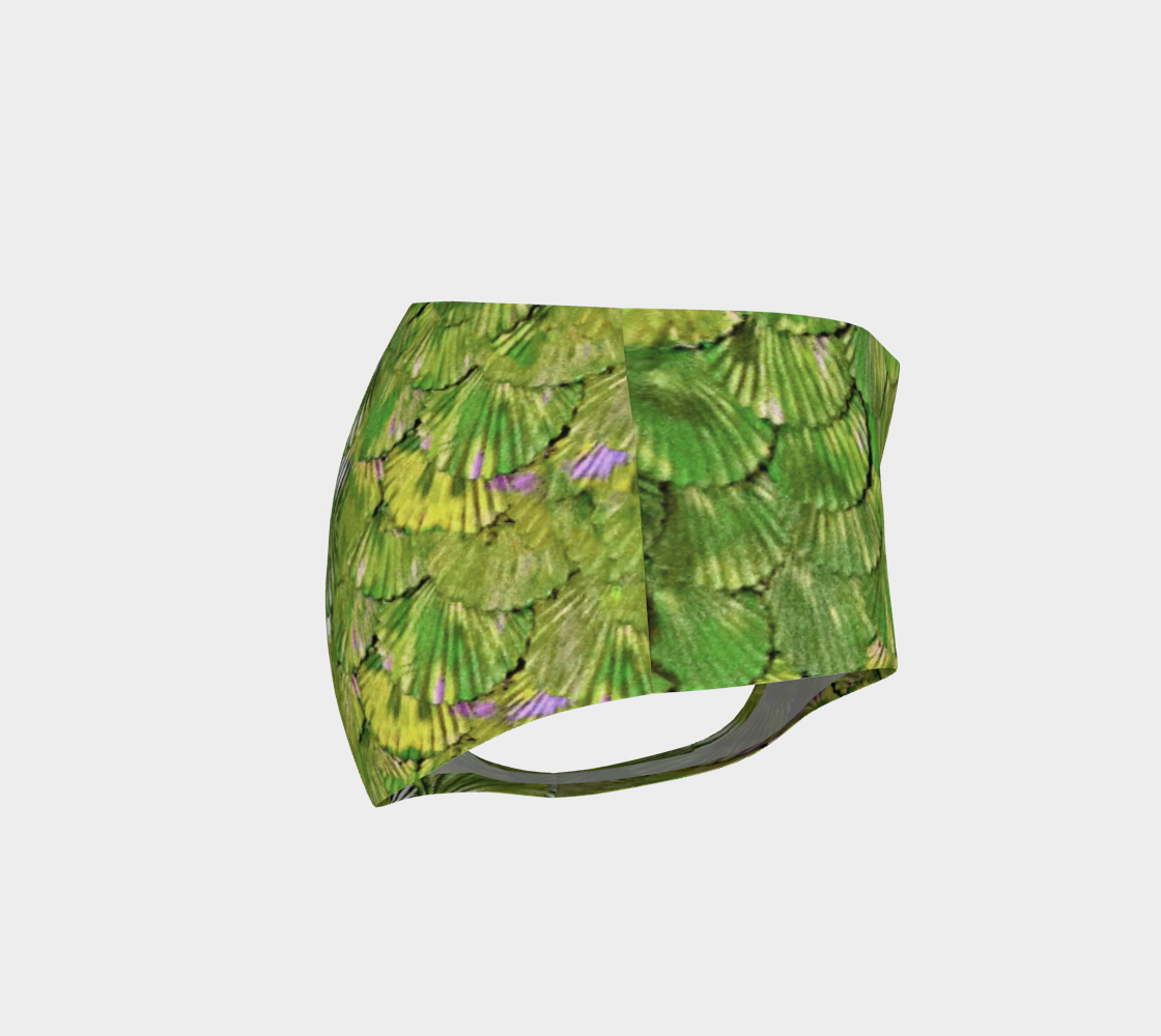 Citrus Green Mermaid Booty Shorts preview #4