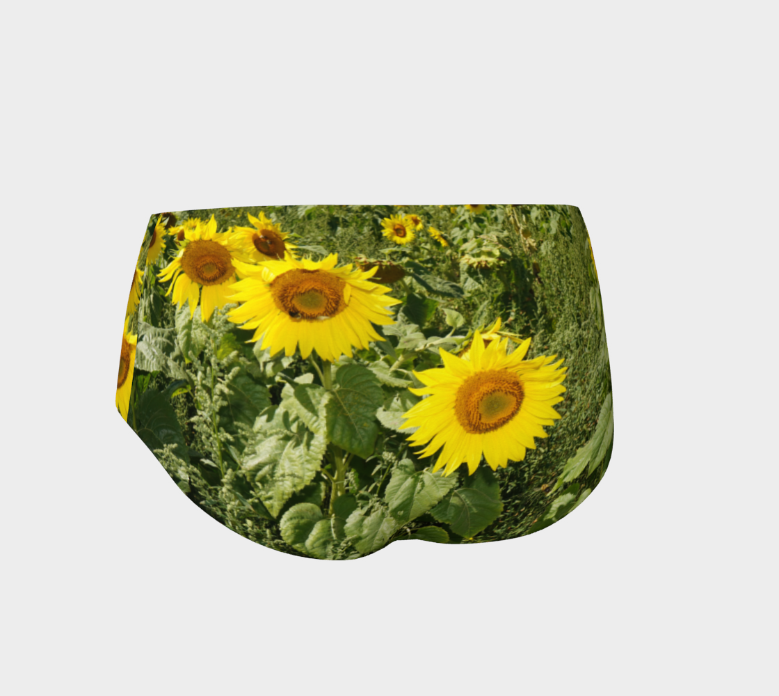 Sunflower Cheeky Shorts preview #2