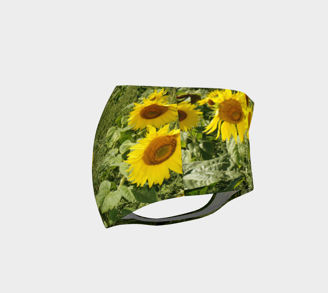 Sunflower Cheeky Shorts preview #4