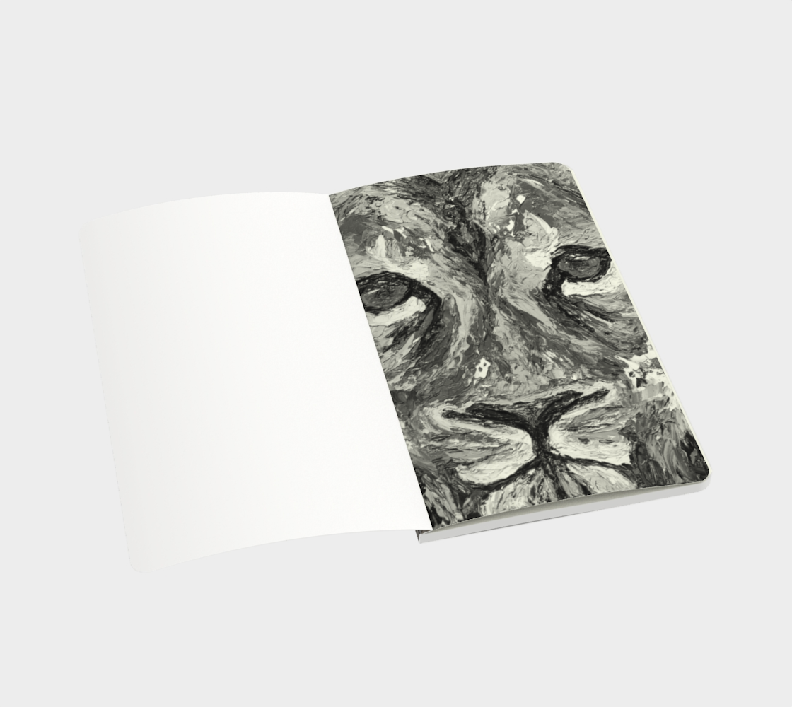 Sacred Masculine Notebook preview #3