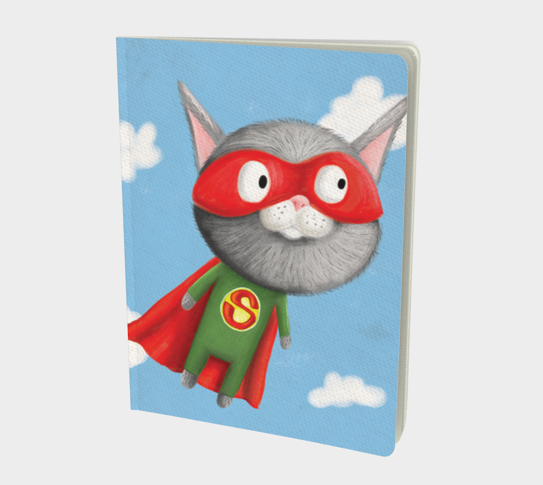 Super Kitty Large Notebook preview