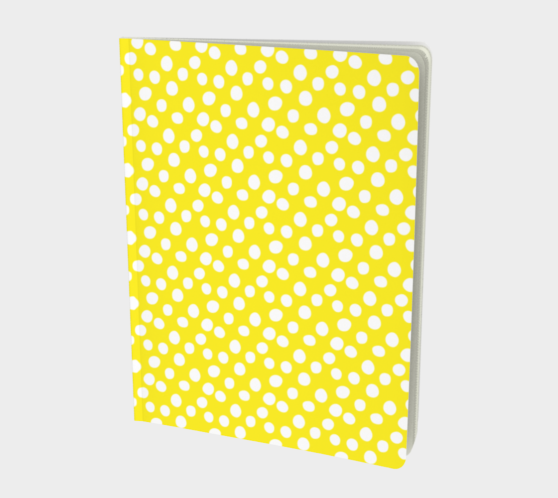 All About the Dots Notebook - Yellow preview