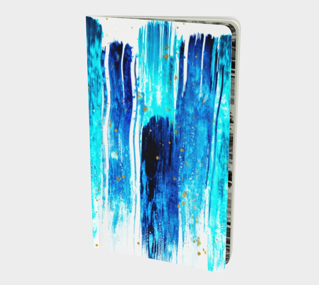 Aperçu de Boho Blue Stripes #1