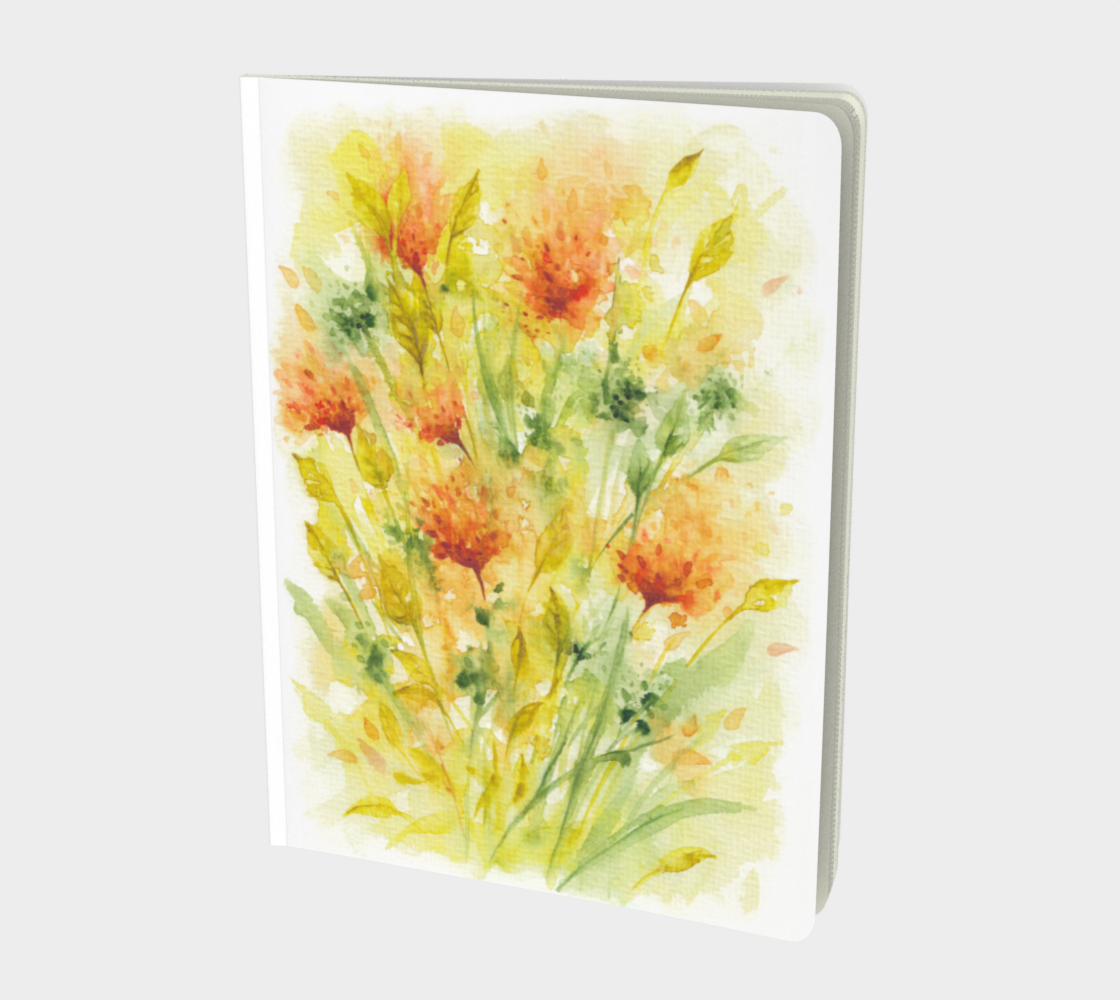 Aperçu de Wild Flowers Watercolors