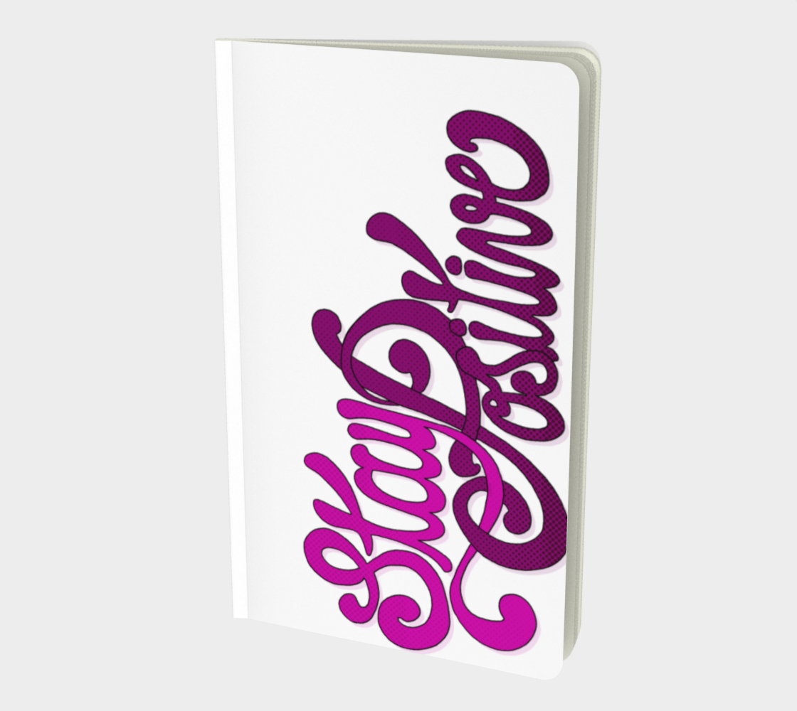 Stay Positive Notebook preview