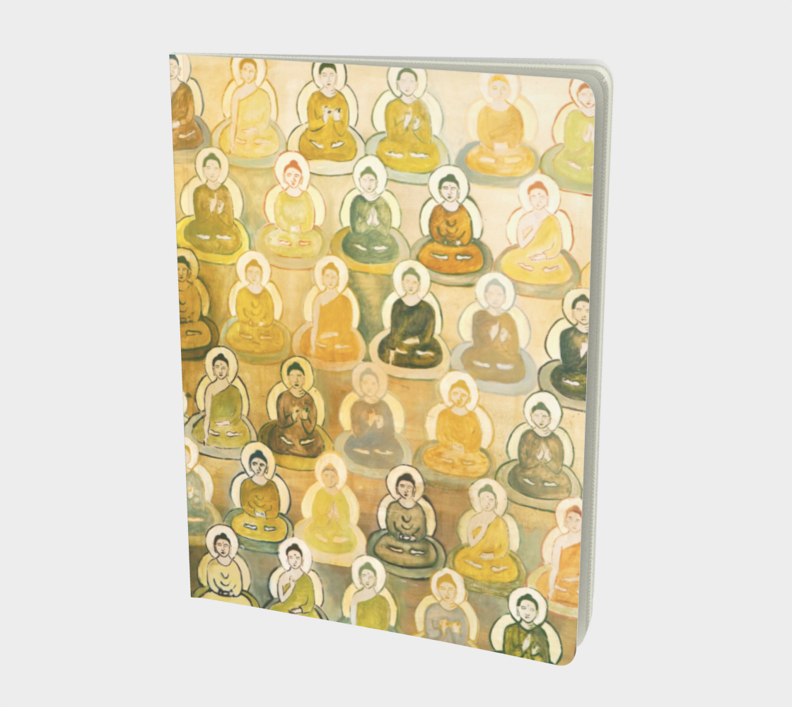 Green 10,000 BUDDHAS Journal preview