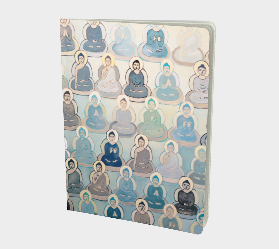 Blue 10,000 BUDDHAS Journal preview
