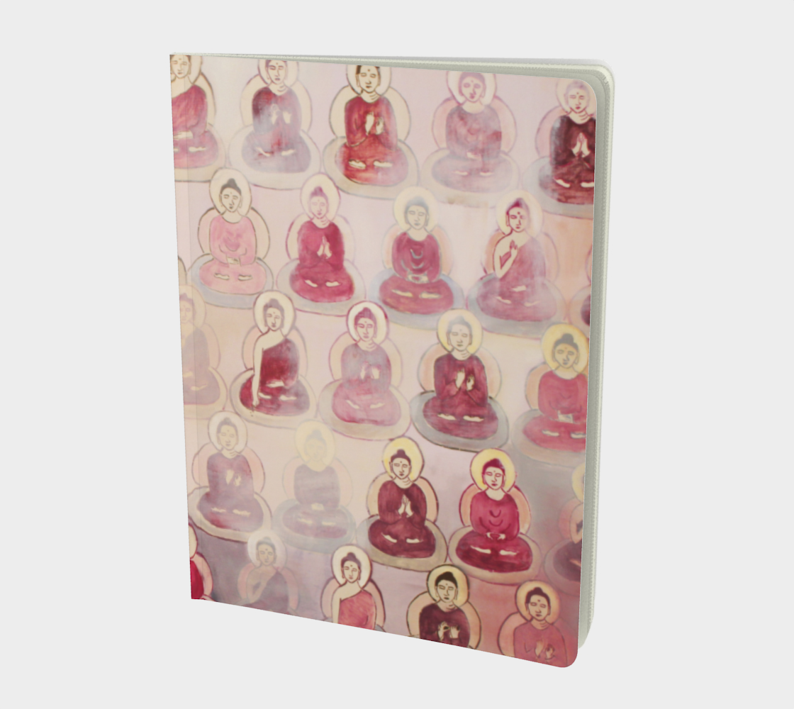 Pink 10,000 Buddhas Journal preview