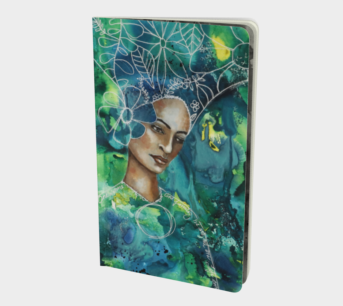 Earth Mother- Small Notebook preview