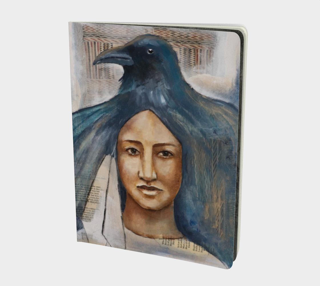 Raven Voice- Large Notebook preview