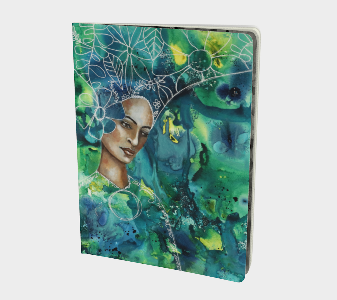 Earth Mother- Large Notebook preview
