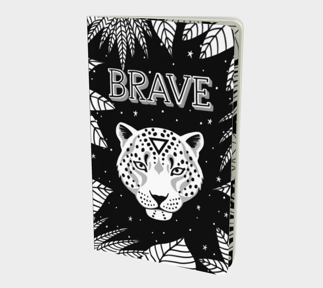 BRAVE small notebook Black & White preview