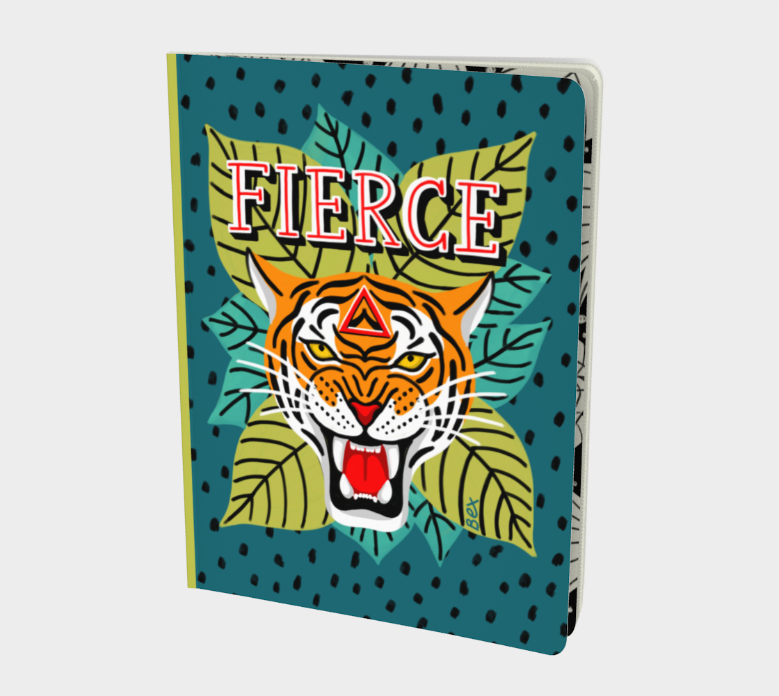 FIERCE Large Notebook. preview