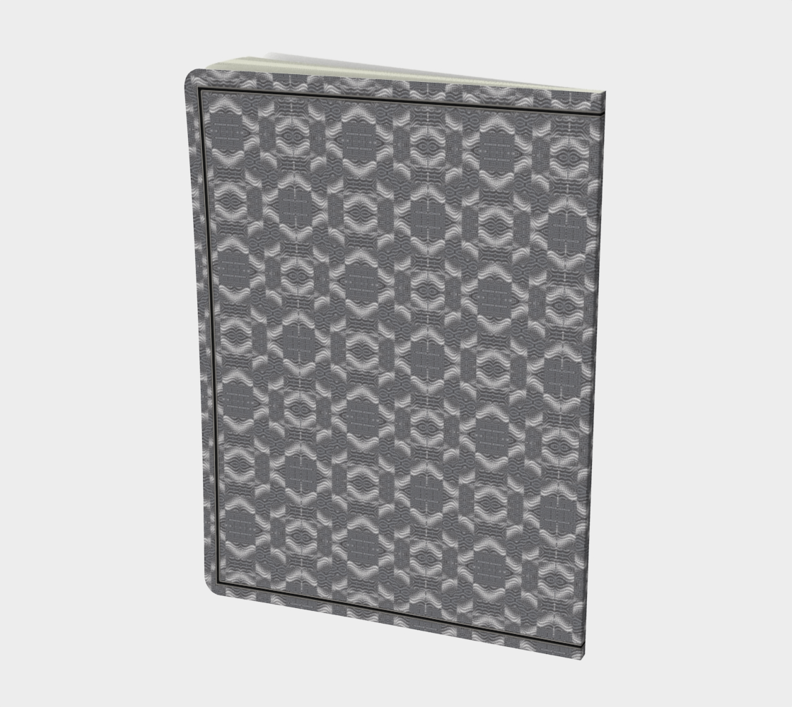 Box Honeycomb Silver Swirl preview #2