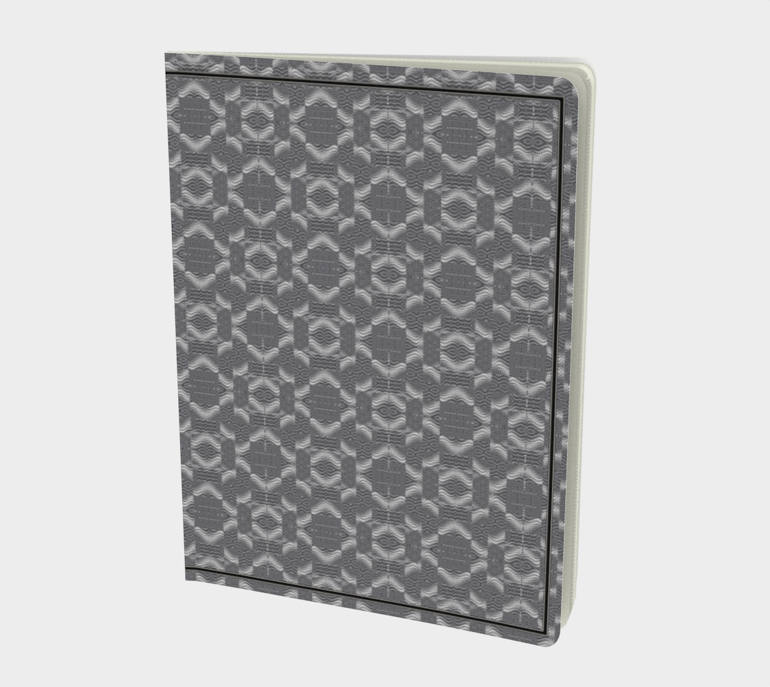 Box Honeycomb Silver Swirl preview